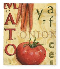Tomato Soup Fleece Blanket