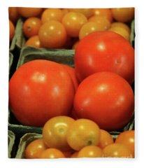 Tomatoes #4 Fleece Blanket