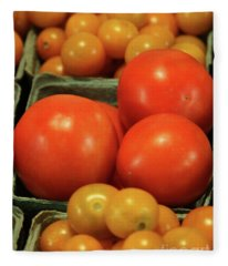 Tomatoes #4 Fleece Blanket