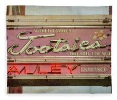 Tootsies Alley - #3 Fleece Blanket