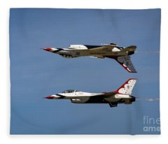 Top Gun Skills Fleece Blanket
