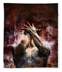 Anguish Fleece Blankets