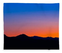 Tornillo Sunset Fleece Blanket
