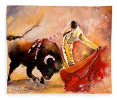 Toro Acuarela Fleece Blanket