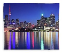 Toronto Blue Fleece Blanket