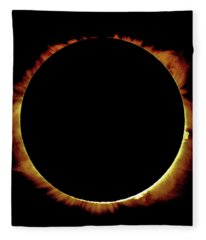 Totality Over Processed Fleece Blanket