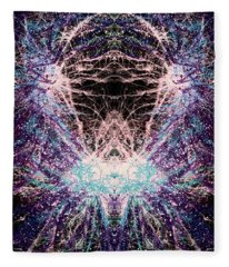 Totems Of The Vision Quests #1525 Fleece Blanket