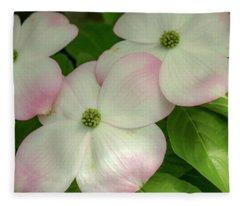Touch Of Pink2 Fleece Blanket
