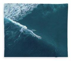 Tow Surf - Sunset Beach Fleece Blanket