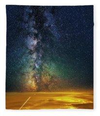 Towards The Core Fleece Blanket