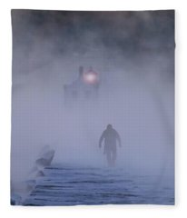 Towards The Light Fleece Blanket