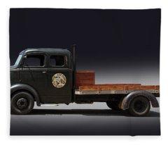 Tow Truck Fleece Blanket