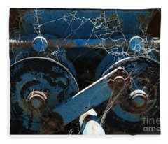 Tractor Engine IIi Fleece Blanket