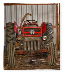 Tractor  Fleece Blanket