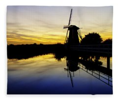 Traditional Dutch Fleece Blanket
