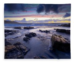 Traigh Allathasdall, Isle Of Barra Fleece Blanket