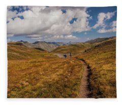Trail Dancing Fleece Blanket