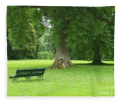 Tranquil Space Fleece Blanket