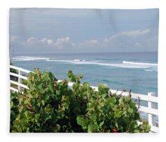 Tranquil View Fleece Blanket