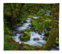 Tranquility Creek Fleece Blanket