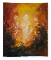 Transfiguration Fleece Blanket
