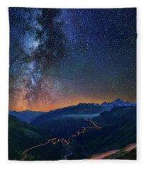 Transience And Eternity Fleece Blanket