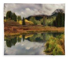Transition Fleece Blanket