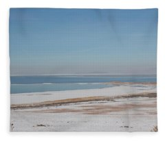 Fleece Blanket featuring the pyrography Transition by Michael Lucarelli