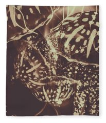 Translucent Abstraction Fleece Blanket