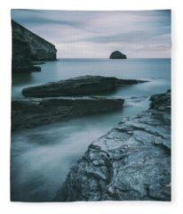 Trebarwith Strand II Fleece Blanket