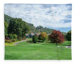 Tree Color Pop Fleece Blanket