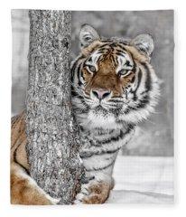 Tree Huggin Fleece Blanket