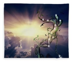 Tree Of Humanity Fleece Blanket