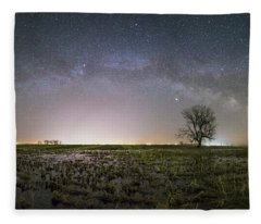 Tree Of Huron  Fleece Blanket