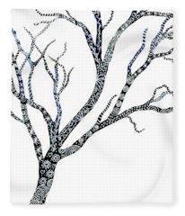 Tree Of Strength Fleece Blanket