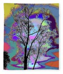 Tree - Story Of Life Fleece Blanket