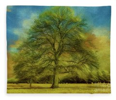 Tree Three Fleece Blanket