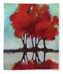 Trees For Alice Fleece Blanket