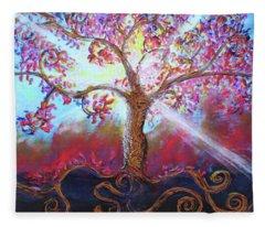 Treevelation Fleece Blanket