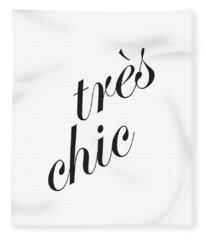 Tres Chic Fleece Blanket
