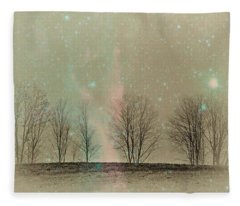 Tress In Starlight Fleece Blanket