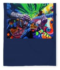 Trey Anastasio 4 Fleece Blanket
