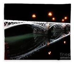Triana Bridge Fleece Blanket