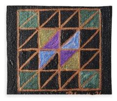 Triangulation Fleece Blanket