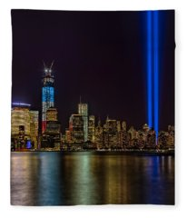 Tribute In Lights Memorial Fleece Blanket