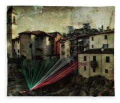 Tribute To Italy Fleece Blanket