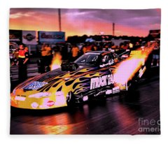 Trick Tank - Bob Gilbertson Fleece Blanket