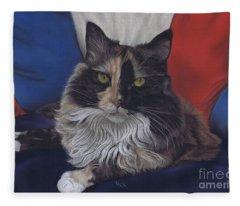 Tricolore Fleece Blanket