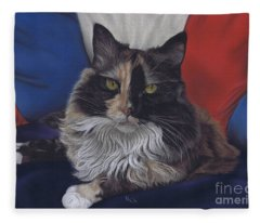 Tricolore Fleece Blanket