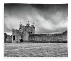 Trim Castle , Co.meath Fleece Blanket